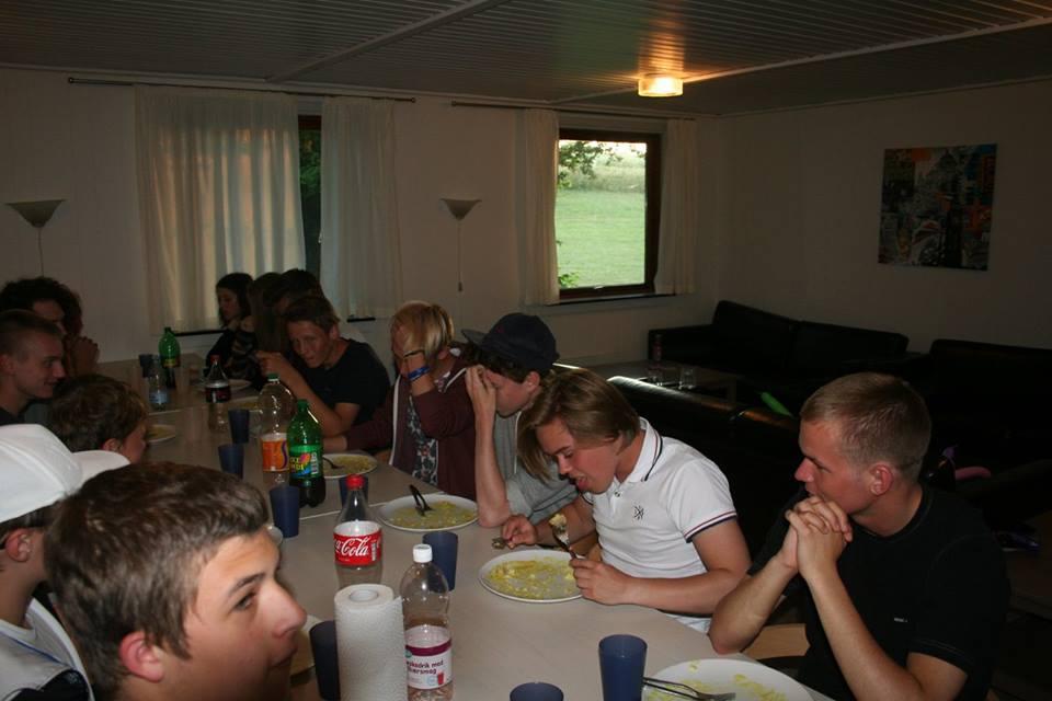 Dagens måltider gav stor hygge og sammenhold
