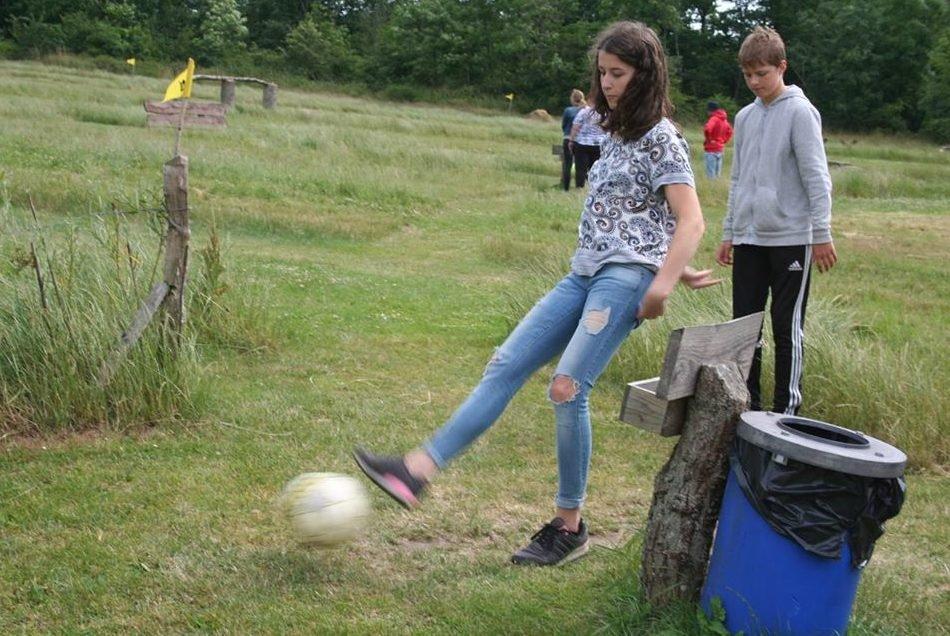 Johanne spillede fodbold