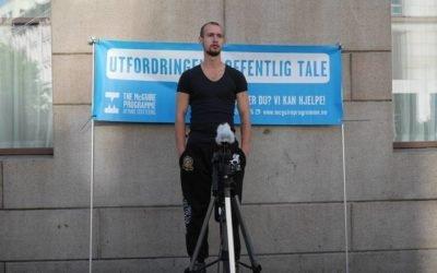 Lasse Snede Froberg har mod på livet