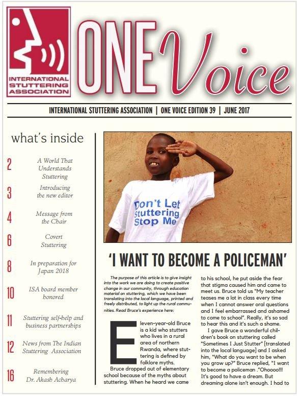 One Voice – International Stuttering Association