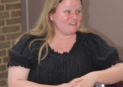 Birgitte Albæk Henriksen formand for Foreningen af Universitetsuddannede Audiologopæder deltog også