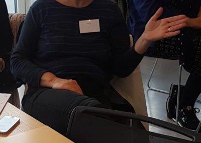 Susanne Bill Holbæk stiller spørgsmål