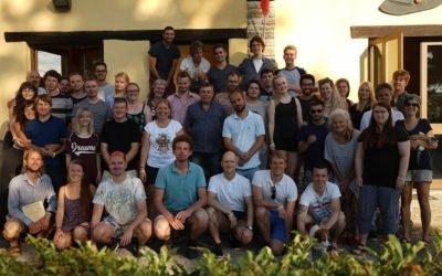Det var en stor oplevelse at deltage i den europæiske ungdomslejr i Italien